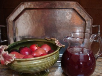 grapes - pitcher of