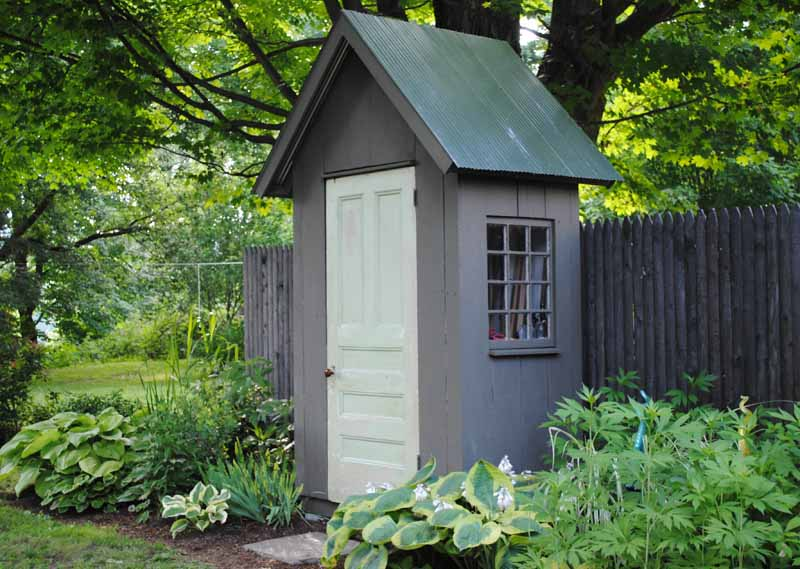 Cutest Tool Shed Ever Harmony In The Garden