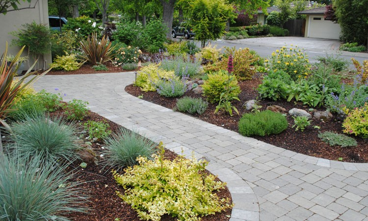 Landscaping ideas for small front yards without grass : New here backyard landscaping without grass