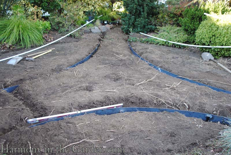 Replacing a lawn