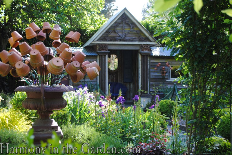 Freeland Tanner-Garden Designer-Napa-Garden Decor-Bespoke Garden Decor-garden temple-garden outbuilding-garden art-flower pot decor
