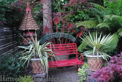 Freeland Tanner-Garden Designer-Napa-Garden Decor-Bespoke Garden Decor-garden temple-bespoke bird houses-garden tool art-garden art