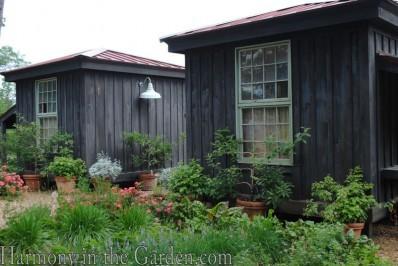 Entrance to P. Allen Smith's vegetable garden