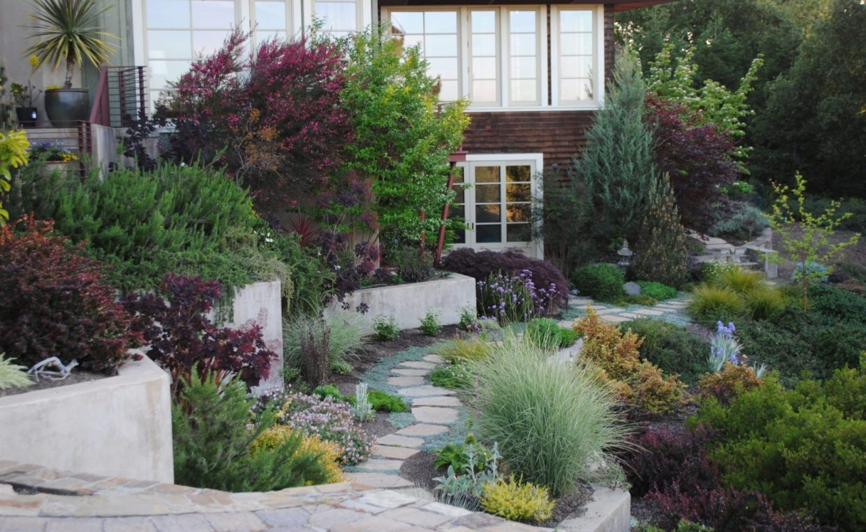 Replace Hillside Meadow Garden