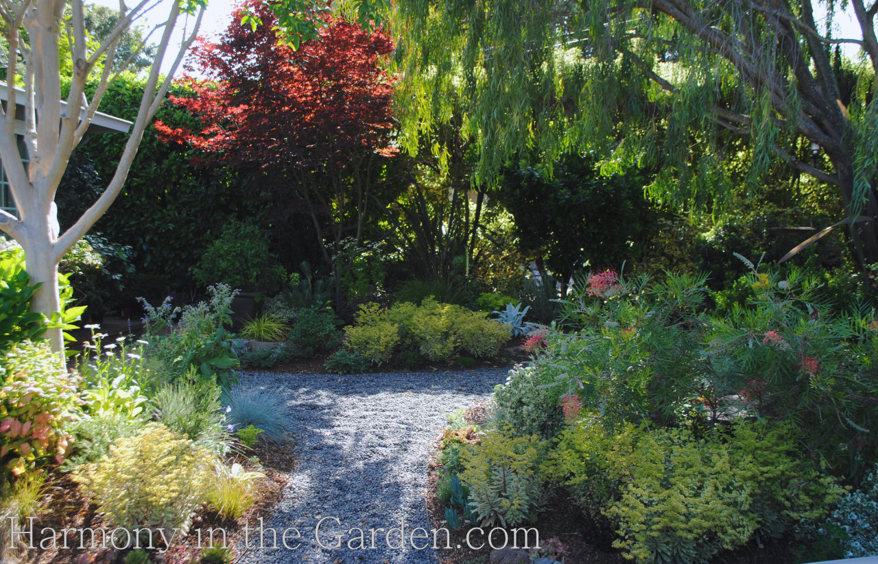 entry garden makeover