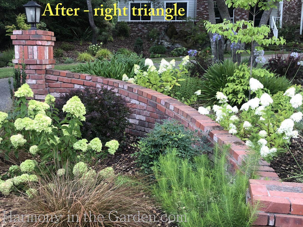 Front Entry Garden design